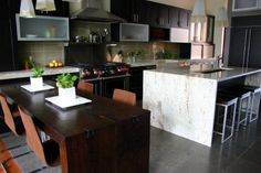 Waterfall Counter.  Howe « KitchenLab Design