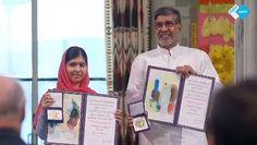 Vanmiddag was het zover: Malala ontving de Nobelprijs voor de Vrede! Samen met mede-winnaar Kailash Satyarthi straalde ze op het podium.  Bekijk nu deze special over deze jongste Nobelprijswinnaar ooit!  #Malala #nobelprijs #vrede #nobelprijsvoordevrede Nobelprize.org#kailashsatyarthi  http://www.spirit24.nl/#!player/share/program:48844864/group:45857300