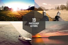 Check out 19 Photoshop Actions by Lorans on Creative Market