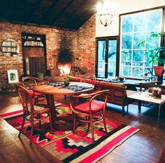 Interior ~ A casa de Derek James e Kristen Korven