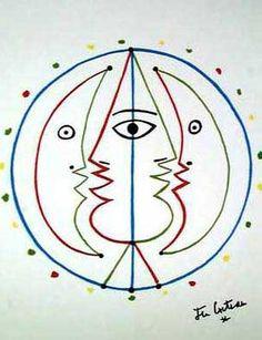 Jean Cocteau #illustration #jeancocteau