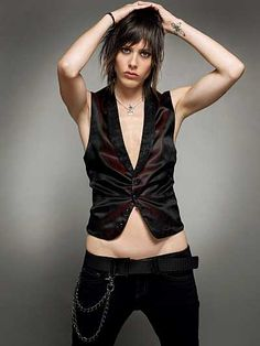 katherine moennig as shane on the L word.