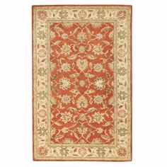 Home Decorators Collection Old London Terra and Ivory 4 ft. x 6 ft. Area Rug - 4561620420 - The Home Depot