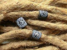 Korálky na dready óm.. handmade by the.black.cat #dreadlocks #beads