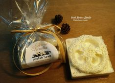 Spiced Vanilla Loofah goat milk soap www.etsy.com/shop/WallFlowerGardenShop