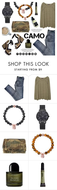 """""""Go camo!"""" by christianpaul ❤ liked on Polyvore featuring Cheap Monday, MANGO, Pierre Hardy, Yves Saint Laurent, Byredo, contestentry, camostyle and christianpaulwatches"""