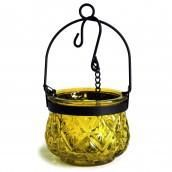 Moroccan Style Hanging Candle Lantern - Moss - Ancient Wisdom - Wholesale Giftware and Aromatherapy Supplier Hanging Candle Lanterns, Glass Tealight Candle Holders, Glass Tea Light Holders, Tea Light Candles, Tea Lights, Glass Lanterns, Candleholders, Glass Candle, Moroccan Style
