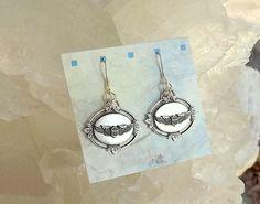 Air Force Earrings, Air Force Sterling Silver Earrings, AF Earrings, USAF Wings…