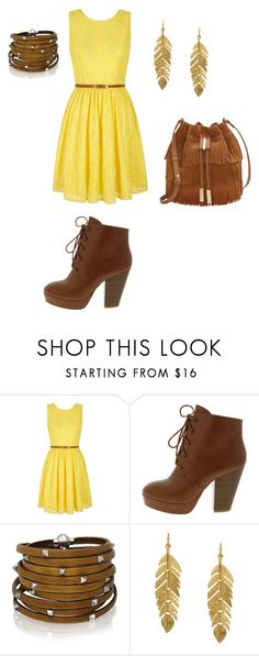 """""""Untitled #155"""" by taaywhitee on Polyvore featuring Yumi, Sif Jakobs Jewellery, Kenneth Jay Lane and Vince Camuto"""