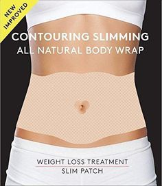 Contouring Slimming All Natural Ultimate Body Wrap - it works to Firm Tone Tighten - 5 Body Wraps