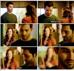Season 3 episode 4-I'm convinced that she is evil and no not just because I ship Sterek