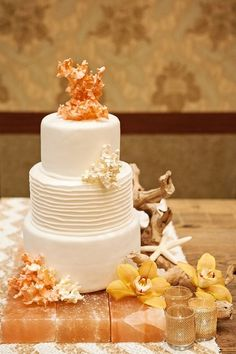 "For Your Cake | Community Post: 63 Ideas For Your ""Little Mermaid"" Wedding"