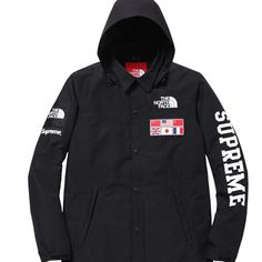 Supreme x north face collab by aagdolla dapper pinterest world map jacket supreme x the north face jacket gumiabroncs Choice Image