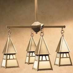 Arroyo Craftsman Dartmouth 4 Light Sputnik Chandelier Finish: Raw Copper, Shade Color: Almond Mica