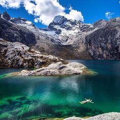 Location: Laguna Churup - Parque Nacional Huascarán, Huaraz, Peru. Photo Credit: @rebornbyadventure