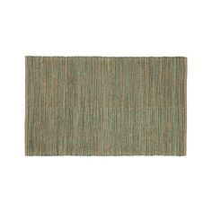 Jarvis Teal Rug (crate and barrel)