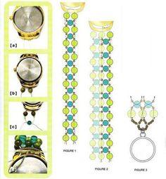 Браслет из бусин на часы / Браслеты / Biserok.org