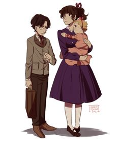 A series of unfortunate events :) this is always how I picture Violet. With the purple peacoat