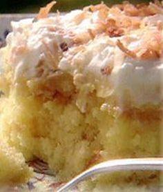 Pineapple Pudding Cake