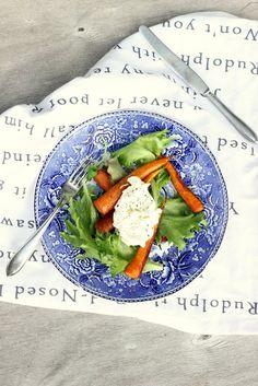 Pata porisee: Paahdetut balsamicoporkkanat