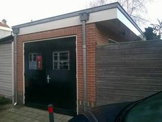 Cool garage we made for a client.