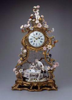 Antique Clock, France, (mid-18th century. MFA, Boston)...AN AMAZING ANTIQUE