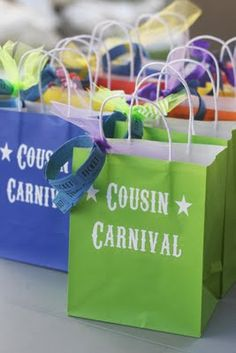 The Annual Cousin Carnival! What a fun idea!