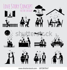 Background With Beautiful Girl Silhouette Ilustraciones vectoriales en stock: 94442533 : Shutterstock