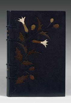 DAUDET (Alph.) Sapho. Compositions de A. F. Gorguet. Gravures à l'eau-forte de Louis Muller. P., Armand Magnier, 1897.   BINDING: Marius Michel
