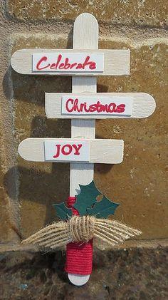 Christmas signpost by Karen Ladd
