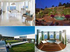 Os invitamos a un recorrido por estas mansiones valoradas en millones de euros y rodeadas de todo tipo de lujo. ¡Feliz fin de semana!