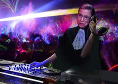 Notorious RBG on the Mic! The Supreme Court Justice Will DJ a Radio Show Next Week. The Notorious RBG, known to some as Justice Ruth Bader Ginsburg, is going to take a break from serving as Associate Justice of the Supreme Court for an afternoon on Chicago's WFMT...