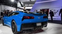 2014 Corvette C7 Stingray Looks Great in Blue - autoevolution