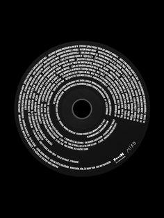 Plusminusnula album cover for the Prague's indie band debut, Photo: ©Vendula Knopová. Cd Design, Album Cover Design, Logo Design, Design Ideas, Album Design, Typographic Design, Graphic Design Typography, Studio Musica, Cd Packaging