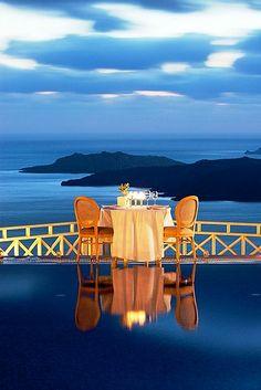Petit Palace Hotel ~ Fira, Santorini, Greece