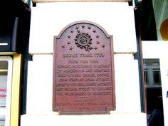 Boone Trail, 1769, Historical Marker, Salisbury NC, Rowan County by Bass Player Keith Hall, via Flickr  #visitsalisburync #visitsalisburyrowan
