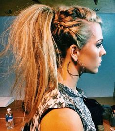 Most Beautiful High Ponytail Hairstyles 2016 for Women