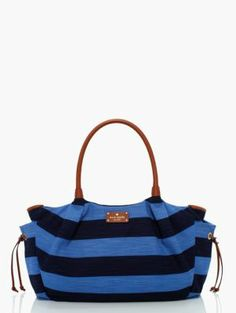 designer diaper bags - jubilee stripe stevie baby bag