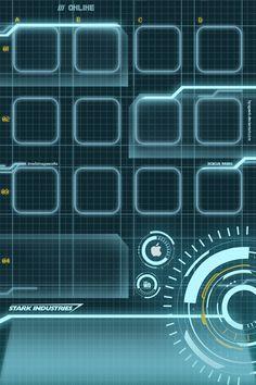 Stark Industries #iPhoneWallpaper
