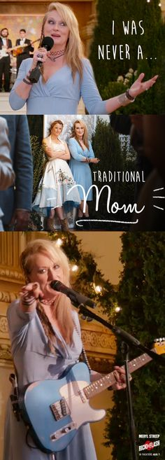 She was never a traditional mom, but she's proud of who she is and the dreams she has. Watch Meryl Streep have it all in Ricki and the Flash, in theaters August 7, 2015 & click to learn more at the official website!