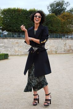 Paris Street Style, mr newton