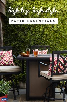 Charmant Find A Variety Of Quality Patio Furniture At Loweu0027s. Shop Outdoor Furniture,  Patio Sets, Patio Umbrellas, Patio Furniture Covers And Cushions, And More.