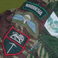 Rhodesian Light Infantry uniform part pastor_rk_ — ЖЖ