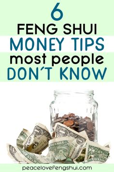 Learn the 6 feng shui money tips that most people don't know! Not your average feng shui ideas for attracting money. Feng Shui Your Desk, Feng Shui And Money, How To Feng Shui Your Home, Feng Shui Wealth, Feng Shui Energy, Feng Shui House, Feng Shui Bedroom, Feng Shui Basics, Feng Shui Tips