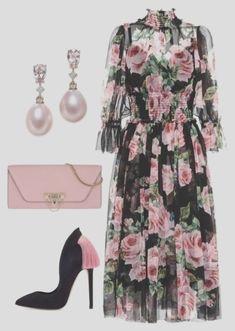 Luxury & Vintage Madrid bietet Ihnen die beste Auswahl an zeitgenössischen und Elegantes Outfit Frau, Madrid, Dresses With Sleeves, Vintage, Long Sleeve, Polyvore, Outfits, Fashion, Chic Dress