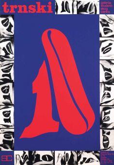 BorisBućan,Trnski 10, Student Center Gallery, silkscreen, 1972