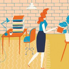 The final illustration for this months psychologies magazine, this was for an article about procrastination!