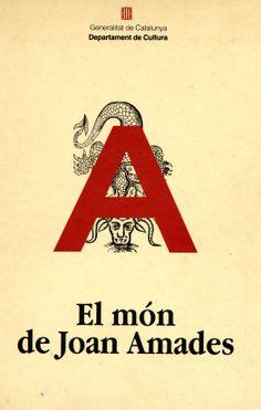 """Coberta del llibre """"El món de Joan Amades"""" Edició del Departament de Cultura de la Generalitat de Catalunya"""
