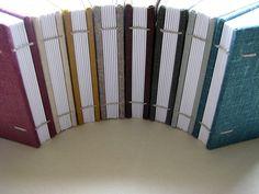 mini coptic binding by paperiaarre, via Flickr