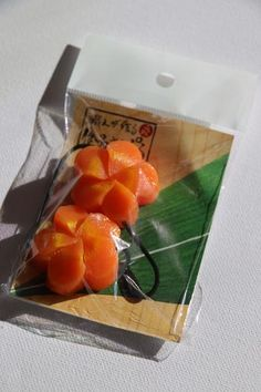 'Carrot Garnish' Hair baubles - Zenbu Home